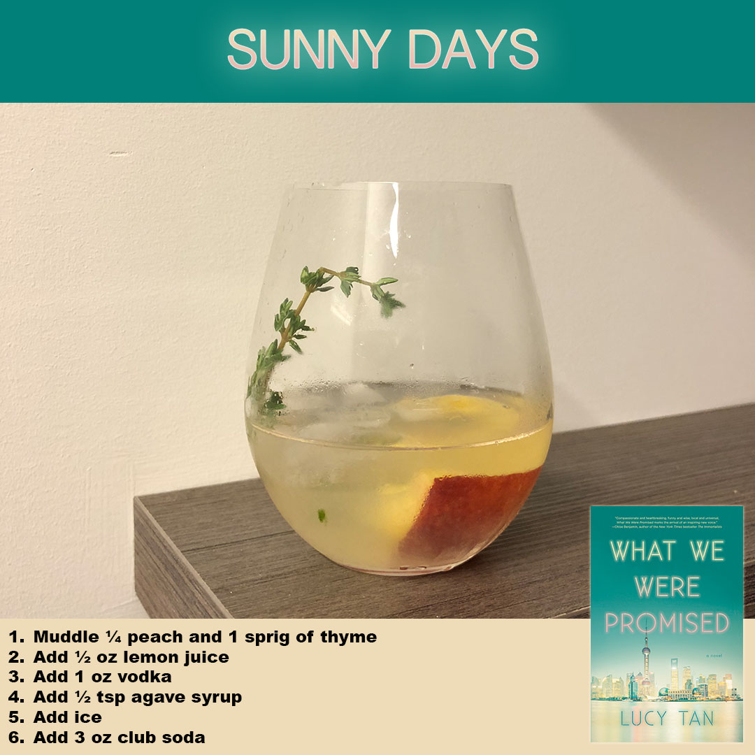 Sunny cocktail